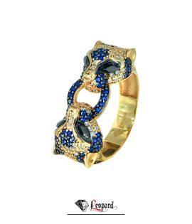 انگشتر طلا لئوپارد 18عیار GR- 3580