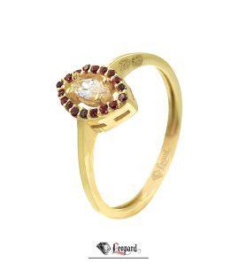 انگشتر طلا 18عیار زنانه 3296-GR