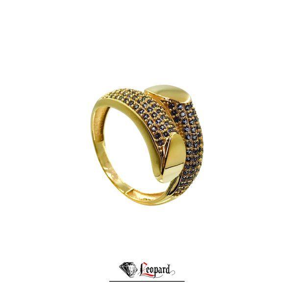 انگشتر طلای نگیندار زنانه GR-3305