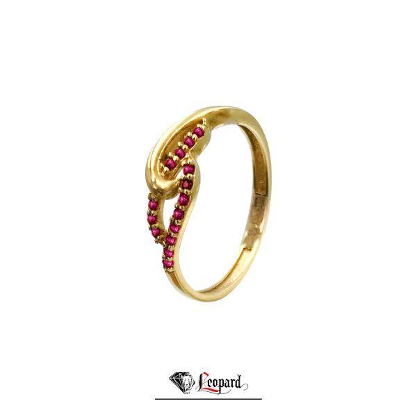 انگشتر طلای نگیندار زنانه 18 عیار GR-3320