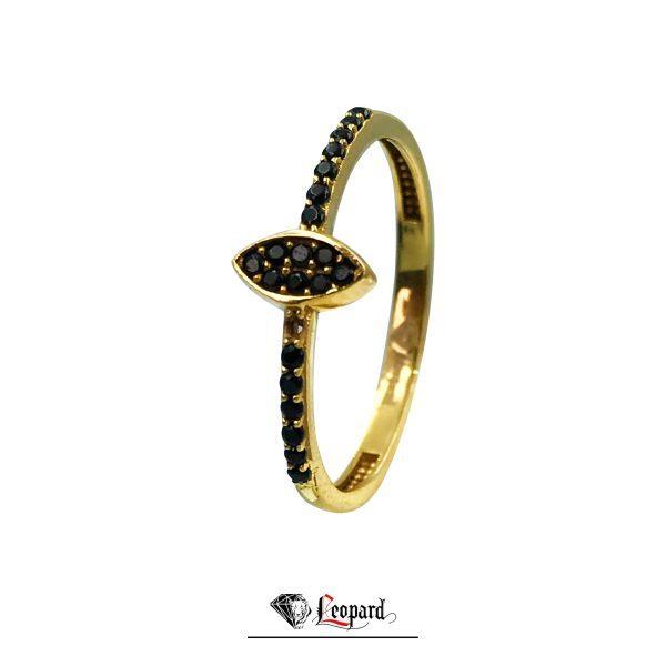 انگشتر طلای نگین دار 18 عیار GR- 3326