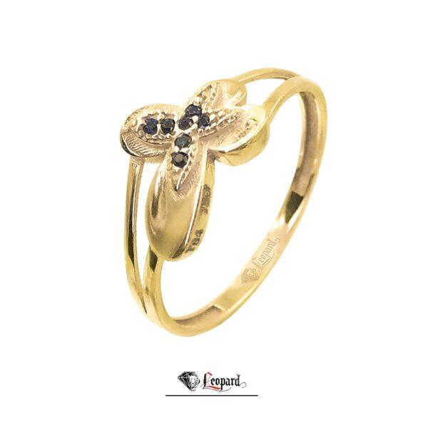 انگشتر طلای زنانه پروانه 3352-GR