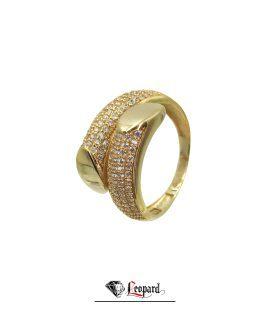 انگشتر طلا 18 عیار زنانه 3355-GR