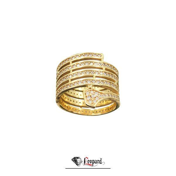 انگشتر طلای زنانه 18 عیار 3358-GR