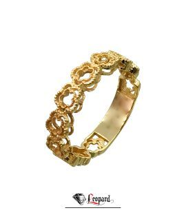 انگشتر طلا فلاور 18 عیار GR-3386