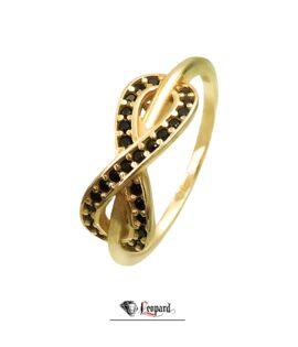 انگشتر طلای 18 عیار بینهایت 3410-GR