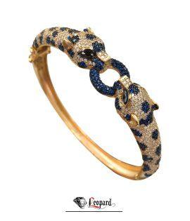 دستبند طلا لئوپارد 3585-GB