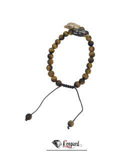 دستبند طلا عقاب و چشم ببر 3599-GB