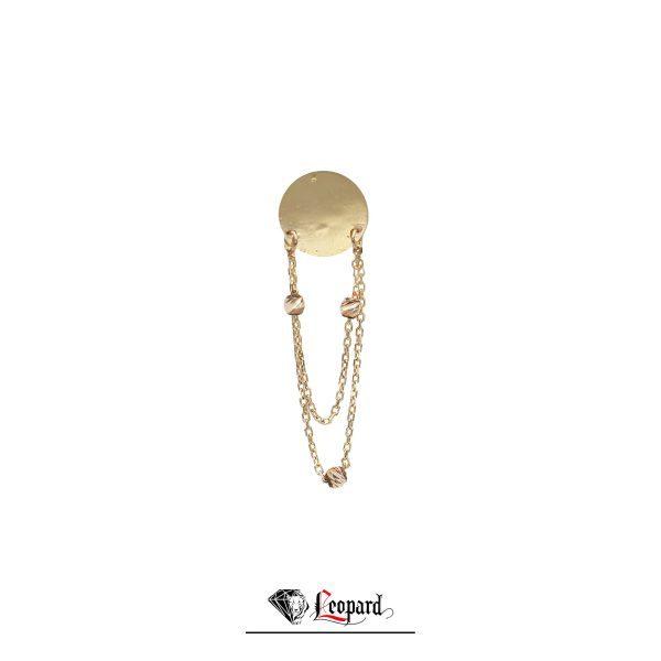 گوشواره چوکر طلای 18 عیار GE-3299