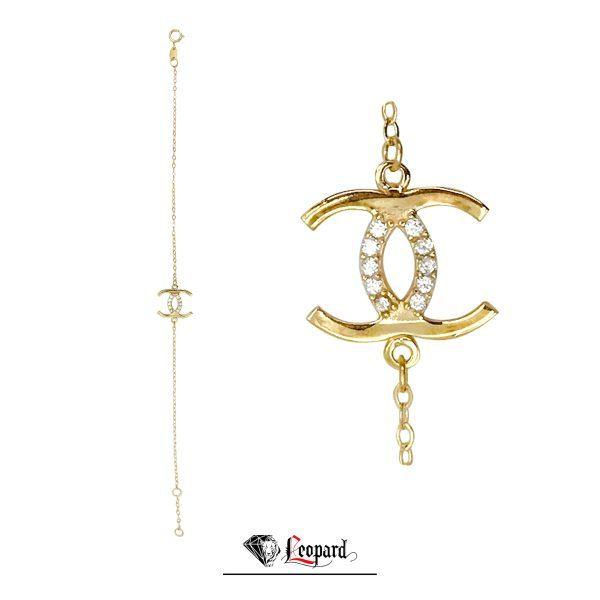 دستبند طلا 18عیار 3638-GB