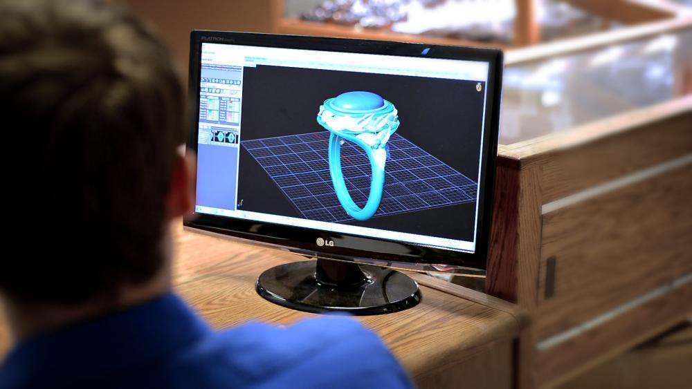 طراحی جواهرات با کامپیوتر