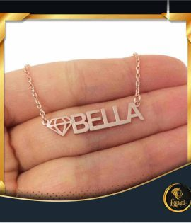 گردنبند اسم BELLA