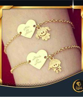 دستبند قلب و اسم