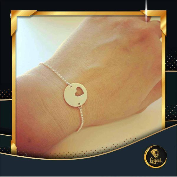 دستبند قلب و دایره